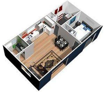 Cabins by design dyo for Kitchen design 6m x 4m
